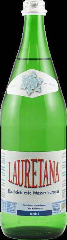 LAURETANA - Das leichteste Wasser Europas • 1 Liter