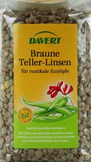 Braune Teller-Linsen - 8-Pack - von Davert