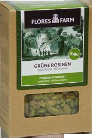Grüne Rosinen - 6-Pack - von Flores Farm