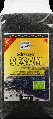 Schwarzer Sesam - von Gesund & Leben
