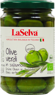Olive verdi in salamoia - 6-Pack - von LaSelva