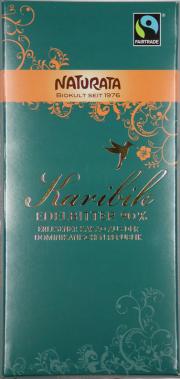 Karibik Edelbitter Bio-Schokolade 90% - 10-Pack - von Naturata