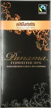 Panama Feinbitter Bio-Schokolade 80% - 10-Pack - von naturata