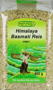 Himalaya Basmati Reis natur - von Rapunzel