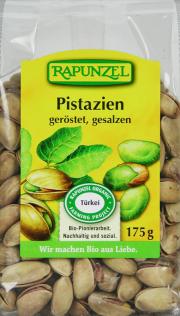 Pistazien geröstet, gesalzen - 8-Pack - von Rapunzel