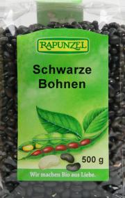 Schwarze Bohnen - 6-Pack - von Rapunzel