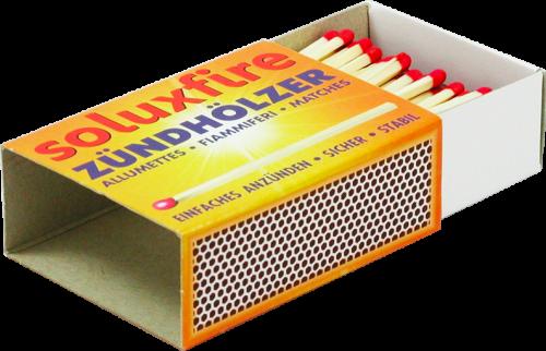 Soluxfire Zündhölzer - von Soluxsan